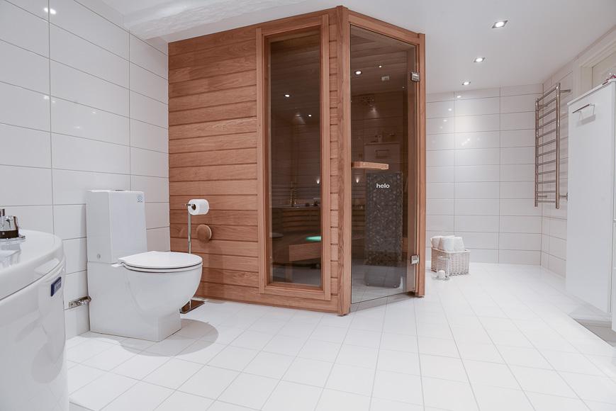 Tillbyggnad badrum och bastu i källare – Citygalleria
